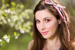 Het portret van de lente Royalty-vrije Stock Fotografie