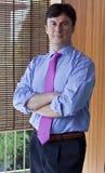 Het Portret van de manager Royalty-vrije Stock Afbeeldingen