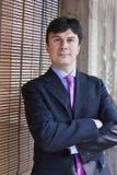 Het Portret van de manager Stock Foto