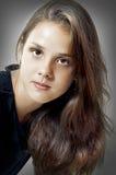 Het portret van de manier van jong model Royalty-vrije Stock Fotografie