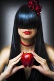Het portret van de manier van jong sexy vrouwelijk model Royalty-vrije Stock Foto