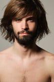 Het portret van de mens Stock Fotografie