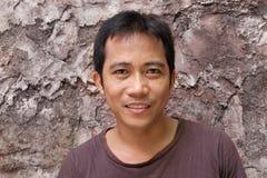 Het portret van de mens Stock Foto's