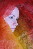 Het portret van de mysticus Stock Fotografie