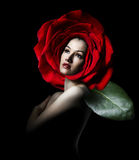 Het portret van de schoonheid Royalty-vrije Stock Foto's
