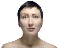 Het portret van de schoonheid. stock foto's