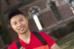 Het portret van de student Stock Foto's