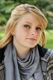 Het portret van de tiener royalty-vrije stock afbeeldingen