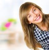 Het Portret van de tiener Royalty-vrije Stock Fotografie