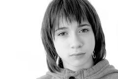 Het portret van de tiener royalty-vrije stock afbeelding