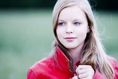 Het Portret van de tiener Stock Afbeelding
