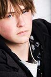 Het portret van de tiener stock afbeeldingen