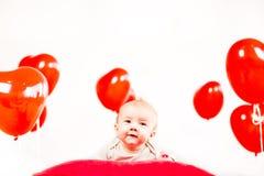 Het portret van de valentijnskaartendag Royalty-vrije Stock Afbeelding