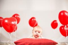 Het portret van de valentijnskaartendag Royalty-vrije Stock Foto