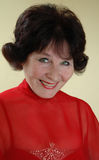 Het portret van de vrouw Stock Foto