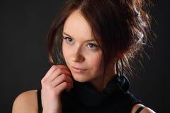 Het portret van de vrouw Royalty-vrije Stock Fotografie