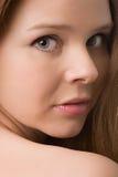 Het portret van de vrouw Royalty-vrije Stock Afbeeldingen