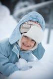 Het portret van de winter Stock Afbeelding