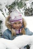 Het portret van de winter Royalty-vrije Stock Fotografie