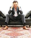 Het portret van de zakenman royalty-vrije stock foto's