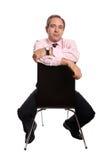 Het portret van de zakenman Stock Afbeelding