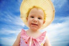Het portret van de zomer Stock Foto's