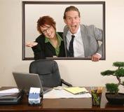 Het Portret van het bureau Stock Foto