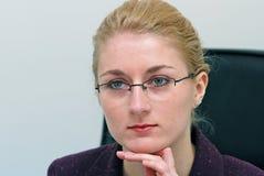 Het portret van het bureau Stock Afbeelding