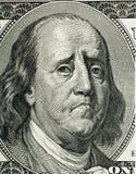Het portret van het Franklin` s beeldverhaal stock afbeeldingen