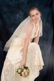 Het portret van het huwelijk Stock Fotografie
