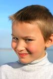 Het portret van het jonge geitje Royalty-vrije Stock Foto's