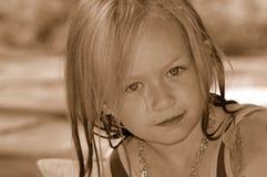 Het portret van het kind royalty-vrije stock fotografie