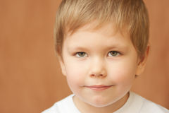 Het portret van het kind royalty-vrije stock afbeelding