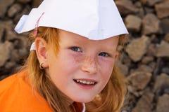 Het portret van het meisje royalty-vrije stock afbeelding