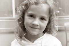 Het portret van het meisje Stock Foto