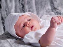 Het Portret van het Meisje van de baby stock afbeelding
