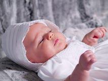 Het Portret van het Meisje van de baby stock foto's
