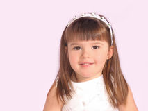 Het Portret van het Meisje van de peuter Royalty-vrije Stock Afbeeldingen