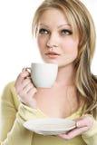 Het portret van het mooie meisje Stock Afbeelding
