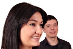 Het portret van het paar Royalty-vrije Stock Afbeelding