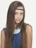 Het Portret van het tienermeisje Stock Afbeeldingen