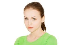 Het portret van het tienermeisje Stock Afbeelding