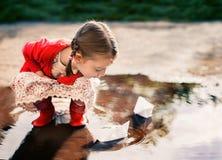 Het portret van jonge geitjes royalty-vrije stock foto