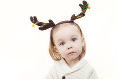 Het portret van Kerstmis Stock Foto's