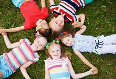 Het portret van kinderen Royalty-vrije Stock Foto