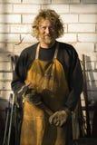 Het portret van Metalsmith. Stock Fotografie