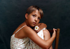 Het portret van Olga - 6 Stock Fotografie