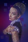 Het portret van Pixelated royalty-vrije stock afbeeldingen