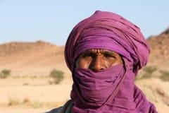 Het portret van Tuareg Stock Afbeeldingen