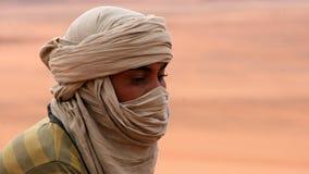 Het portret van Tuareg Stock Foto